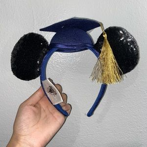 Mickey Mouse Graduation Cap Ear Headband  C/O 2020